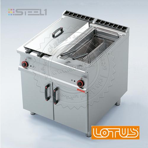 سرخ کن لوتوس – Lotus F225-98G Fryer ,تجهیزات,تجهیزات فست فود