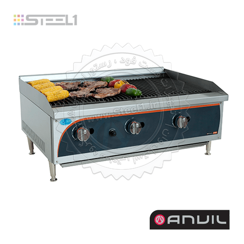 گریل ذغالی آنویل – Anvil GGL0900 ,تجهیزات,تجهیزات فست فود