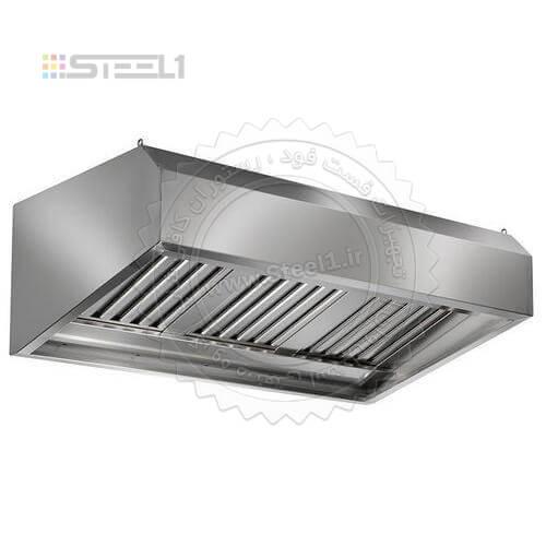 هود آشپزخانه صنعتی – Hood steel ,سازه های استیل