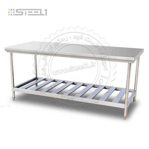 میزکار استیل – Worktable Steel ,سازه های استیل