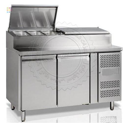 تاپینگ پیتزا -Pizza Topping ,تجهیزات,تجهیزات برودتی,تجهیزات فست فود,سازه های استیل