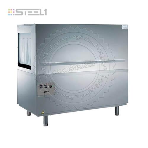 ماشین ظرف شویی ریلی زانوسی – Zanussi dishwasher NERT10ELG ,تجهیزات,تجهیزات رستوران,تجهیزات هتل