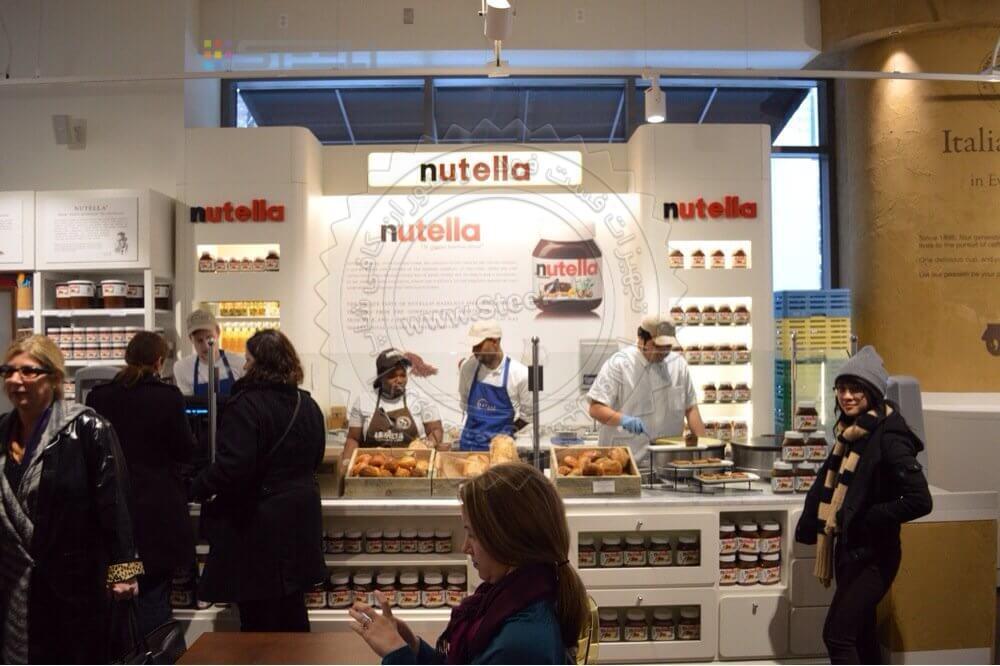 فروشگاه نوتلا , راه اندازی نوتلابار , منو نوتلا