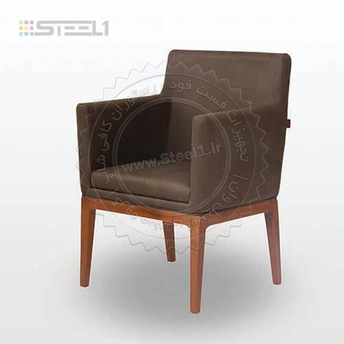 صندلی مبل پایه چوب Parker – 16154 ,تجهیزات,تجهیزات هتل,میز و صندلی