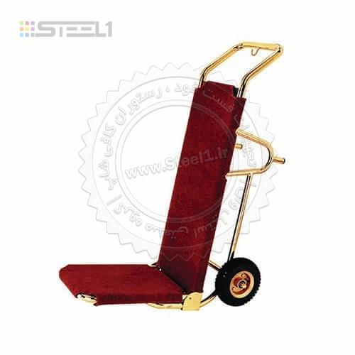 ترولی حمل چمدان دو چرخ – ۱۰۳۳۳ ,تجهیزات,تجهیزات لابی هتل,تجهیزات هتل