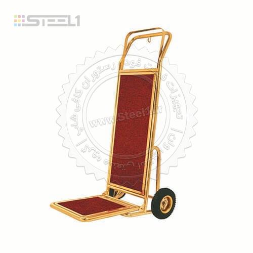 ترولی حمل چمدان ۲ چرخ – ۱۰۳۵۱ ,تجهیزات,تجهیزات لابی هتل,تجهیزات هتل