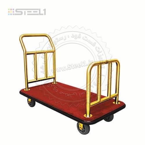 ترولی حمل چمدان توریستی – ۱۰۳۳۰ ,تجهیزات,تجهیزات لابی هتل,تجهیزات هتل