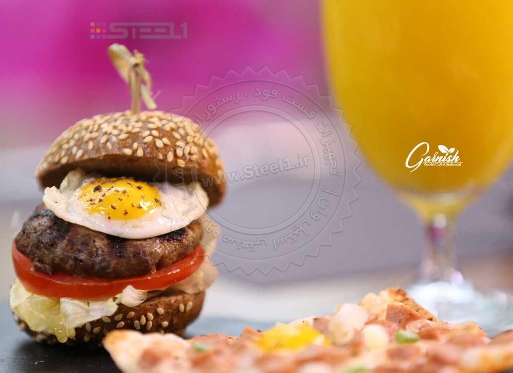 کافه رستوران گارنیش - تجهیزات آشپزخانه صنعتی