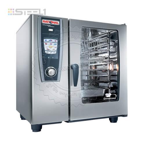 فر پخت ترکیبی رشنال ۱۰ سینی – Rational Oven ,تجهیزات,تجهیزات آشپزخانه صنعتی