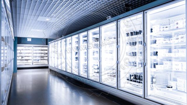 یخچال صنعتی فروشگاهی