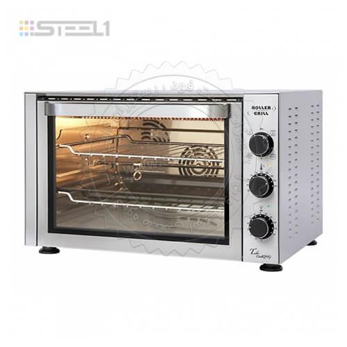 فر کانوکشن رولر گریل – Roller Grill Convection Oven FC380 ,تجهیزات,تجهیزات رستوران,تجهیزات فست فود,تجهیزات کافی شاپ